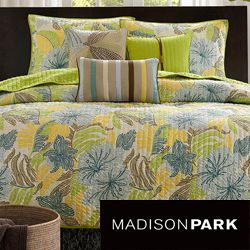 Madison Park Fiji 6 piece Coverlet Set Today: $89.99   $99.99 4.5 (2