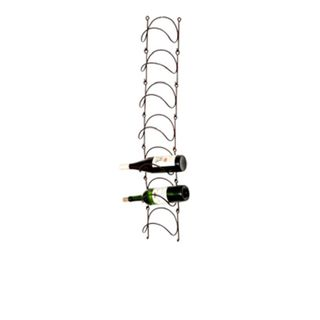 Lauren & Co Phillipe Wall mounted Metal Wine Rack