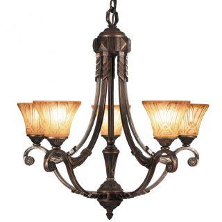 Woodbridge Lighting Sebastian 5 light Tuscan Bronze Chandelier