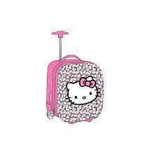 Sanrio Hello Kitty Suitcase   Girls Pink Carry On Luggage