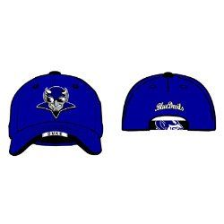 Zephyr Duke Blue Devils Blue Gamer Hat W/Blue Devil Logo