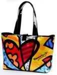 Romero Britto Tote Bag Extra Large Clothing