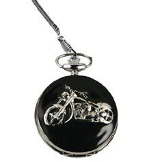Motorcycles Pocket Watches with Chain: Watches: