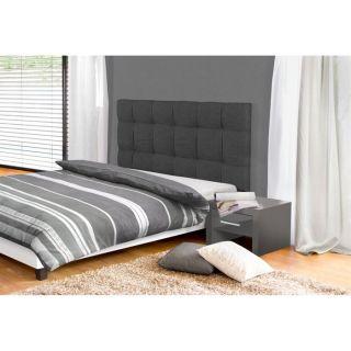 DREAM Tête de lit 154 cm gris foncé   Achat / Vente TETE DE LIT