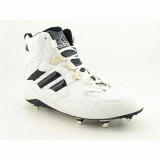 Adidas Mens Team D Hi Promo White/Black Football Cleats (Size 14