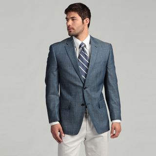 Sean John Mens 2 button Linen Blend Sport Coat