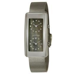 Skagen Womens Mesh Stainless Steel Quartz Watch