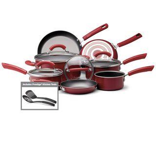 Farberware Red 13 Piece Cookware Set