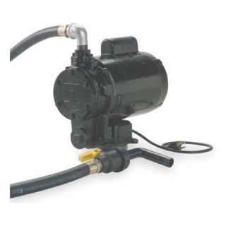 Fill Rite LP50P36Q115 Oil Transfer Pump, Gear, 1 HP, 115 V, 9 GPM