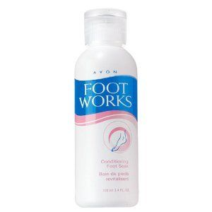 Avon Foot Works Conditioning Foot Soak Health & Personal