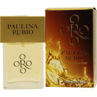 Paulina Rubio Oro By Paulina Rubio Womens 1 ounce Eau de Parfum