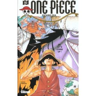 ONE PIECE T.10 ; OK LETS STAND UP   Achat / Vente BD Eiichiro Oda