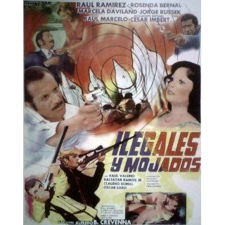KU KLUX KLAN Raul Ramirez MEXICAN MOVIE POSTER; 1978