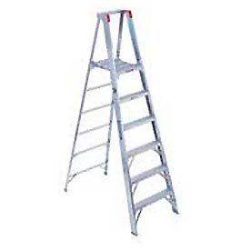 14 Aluminum Platform Step Ladder