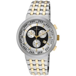 Croton Mens Chronomaster Two Tone Watch