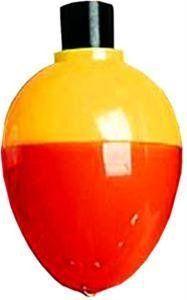 Plastilite Plasti Bob Red/White Round Ball Float (50pc in