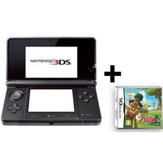3DS NOIR COSMOS + THE LEGEND OF ZELDA SPIRIT   Achat / Vente DS 3DS