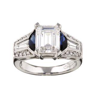 Tacori Platinum 1/2ct TDW Diamond Engagement Ring (G, VS)