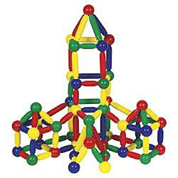 Guidecraft 144 piece Magneatos Jumbo Magnetic Construction Set