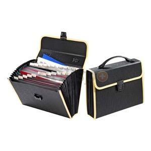 Globe Weis 89080 26 Pocket Poly Case File