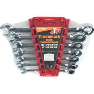 Trademark Tools Ratchet Combination Wrenches (Set of 7) Today $36.99