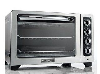 Kitchenaid Countertop Oven Manual : KitchenAid KCO222CS Toaster Oven, Architect Countertop 12