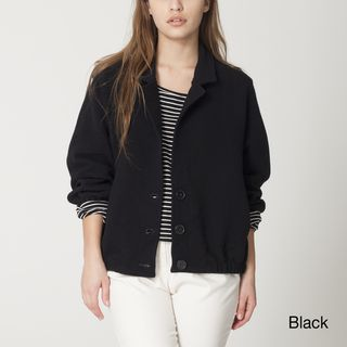 American Apparel Womens Ribbed Jacke
