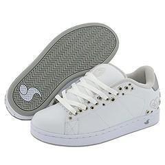 DVS Shoe Company Revival Eyelets W White Leather