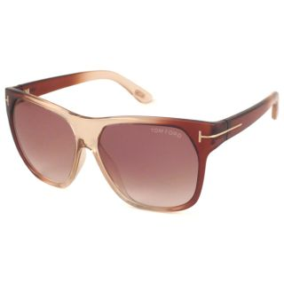 Tom Ford Mens TF0188 Federico Rectangular Sunglasses Compare $243.89