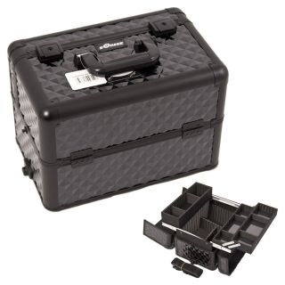 Sunrise Black Diamond Aluminum Makeup Train Case Today $64.94 5.0 (1