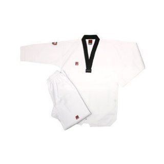 Mooto Basic Black V Taekwondo Dobok Uniform Sports