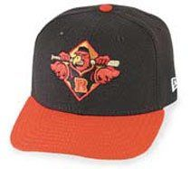 Minor League Baseball Cap   Rochester Red Wings Road Cap