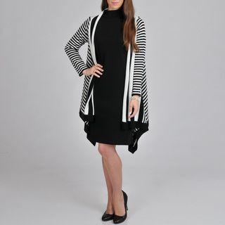 Lennie for Nina Leonard Womens Sweater Dress