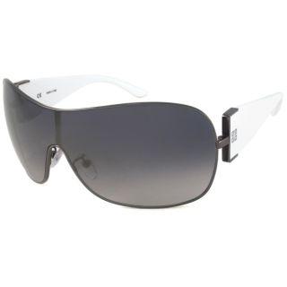 Givenchy SGV321 Womens Shield Sunglasses