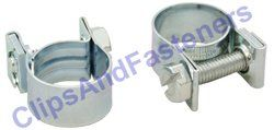 10 Fuel Injection Hose Clamps 8mm 9.5mm (5/16 3/8)