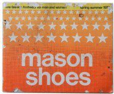 SHOES 1975 Catalog fashion footwear for men and women Mason Shoes
