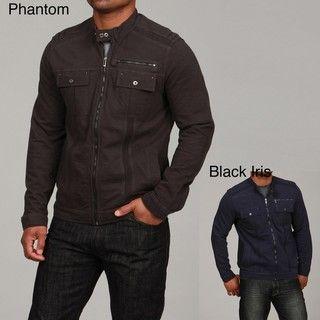 Calvin Klein Mens Zip Front Jacket