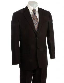 Joseph Abboud Mens Black Suit