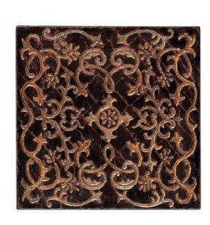 Carved Wood Wall Art Decor in Scrolling Vine Pattern Home