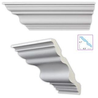 Heritage 8.5 inch Crown Molding (8 pack) Today $264.99 4.0 (1 reviews
