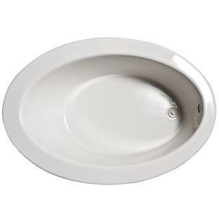 Jacuzzi 60 inch x 42 inch Este Nouvelle White Bath Tub
