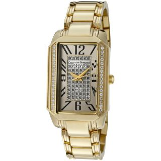 Christian Bernard Womens Heritage Goldtone Ion Plated SS Watch