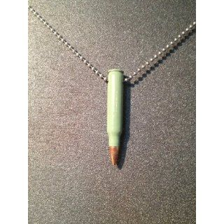 Green .223 Remington Bullet Necklace: Everything Else