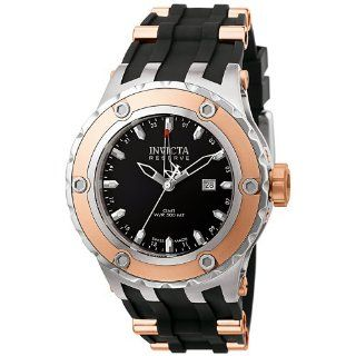 Invicta Mens 6180 Reserve Collection GMT 18k Rose Gold Plated and