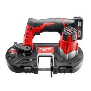 Milwaukee 2429 21XC 12V Cordless M12 Lithium Ion Sub Compact Band Saw