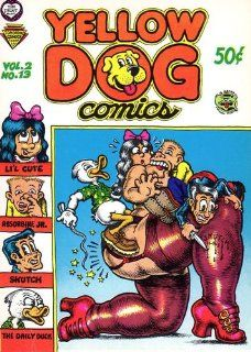 Yellow Dog Comics Volume 2 #13 14 Greg Irons, Jay Lynch