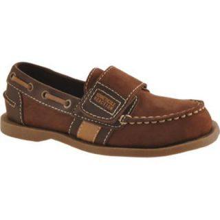 Boys Kenneth Cole Reaction Lock N See 2 Dark Brown Nubuck Today $49