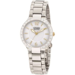 Citizen Womens Eco Drive Firenza Diamond Watch