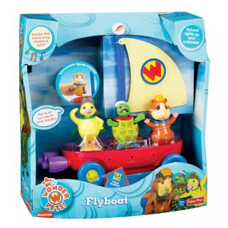 Fisher Price Wonder Pets Flyboat Play Set