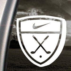 NIKE GOLF EMBLEM Decal Car Truck Window Sticker